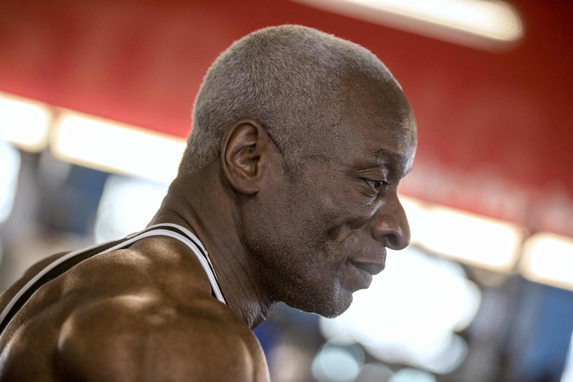 Donald at Gym